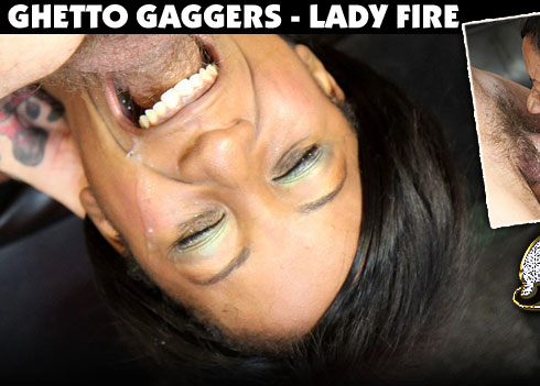 Lady Fire Face Fucked